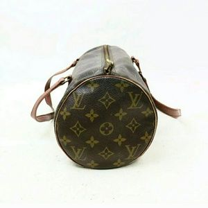 Auth Louis Vuitton Vintage papillon 30, monogram